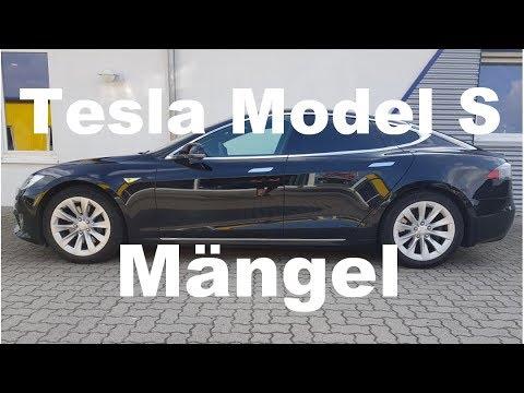 Tesla Model S Facelift Mängel Gebrauchtwagencheck Worauf Sollte