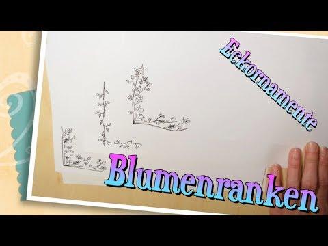 sketchnotes---florale-eckornamente-zeichen---anleitung-ranken,-blumen,-...