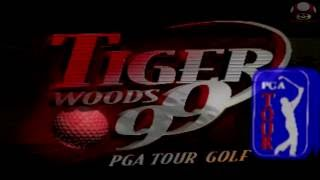 Tiger Woods 99 PGA Tour Golf (Playstation): Intro