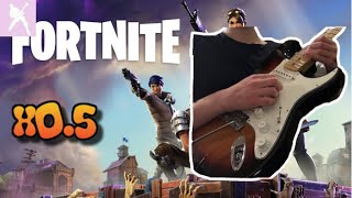 Fortnite Rock Out In Real Life! - Slow Version