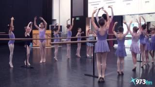 Meet 97.3fm's Littlest Prima Ballerinas