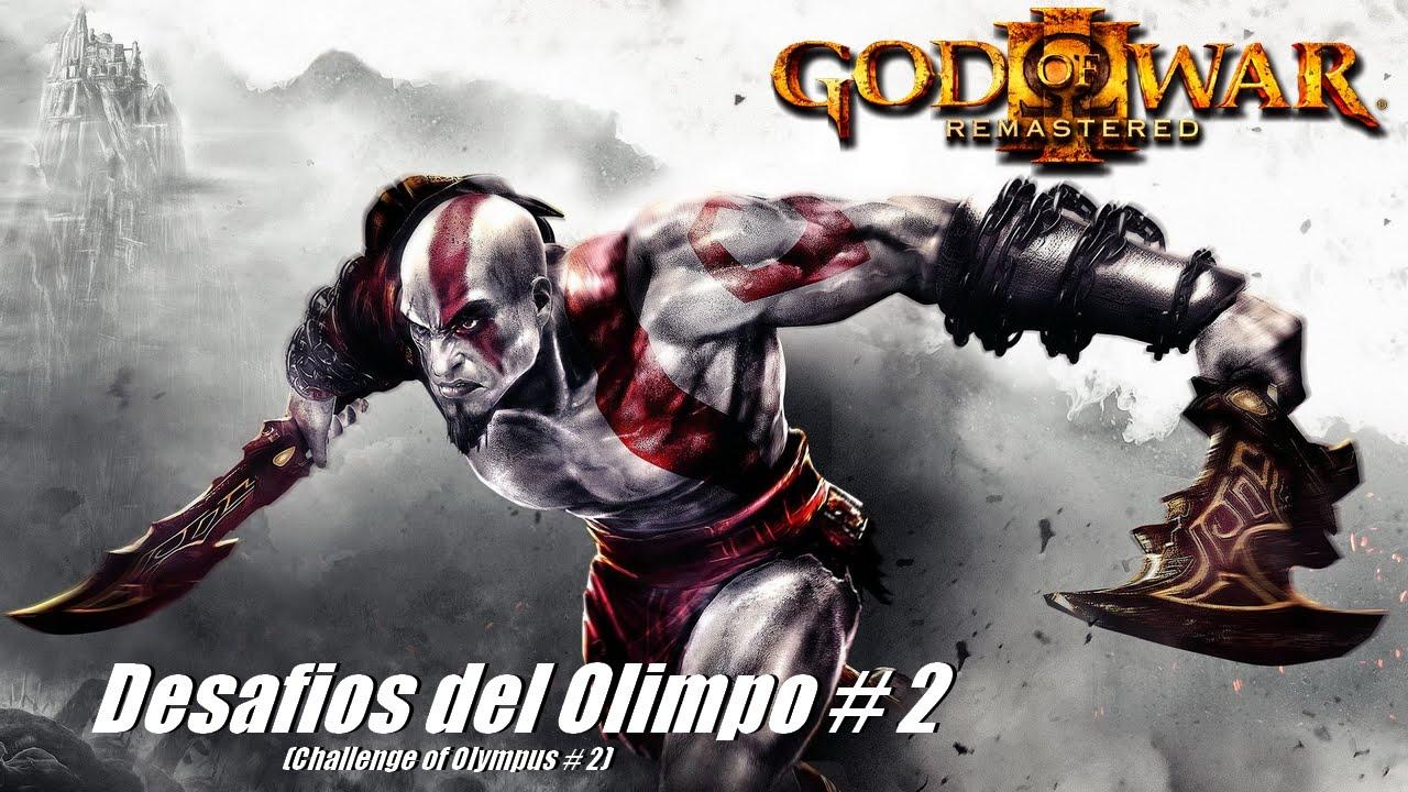 God of war iii remastered desafio del olimpo challenge for God of war 3 jardines del olimpo