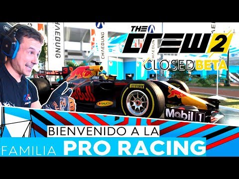 THE CREW 2 - BETA CERRADA | LA FAMILIA PRO RACING MOLA | GTro_stradivar Gameplay Español