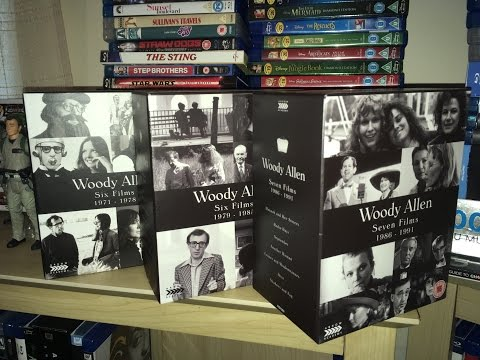 Woody Allen Collection  Volume 1-3 Arrow Academy Blu Ray Box Set