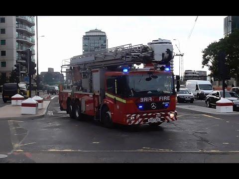 London Emergency Services Responding // Hulpdiensten met spoed in Londen