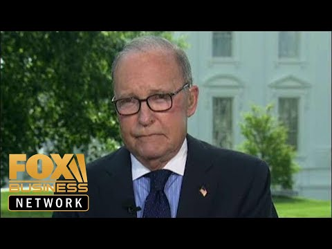 Kudlow celebrates Trump economy's booming job numbers