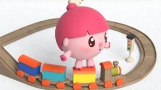Малышарики - Самолётик (23 серия) Развивающие мультфильмы для самых маленьких детей 1,2,3,4 года