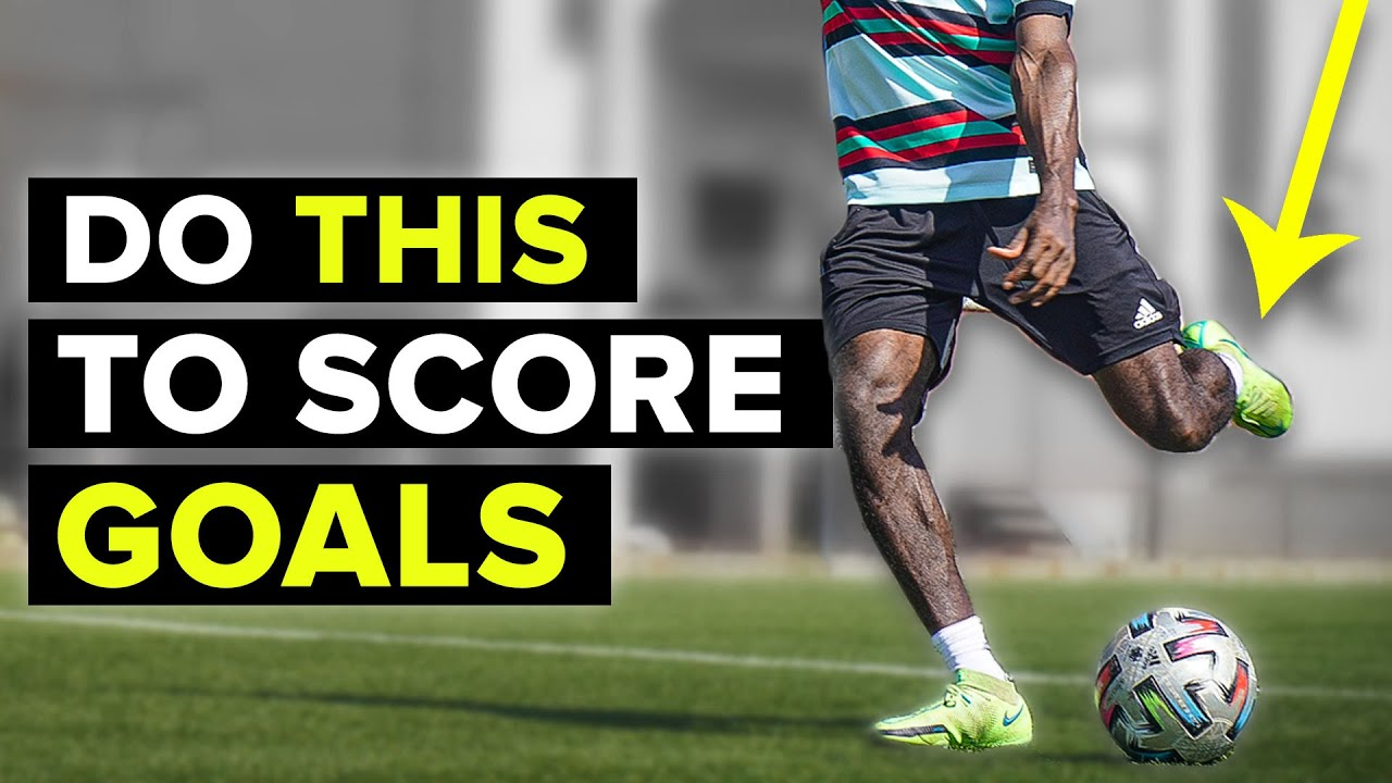 Do THIS to score more goals |Finishing tutorial