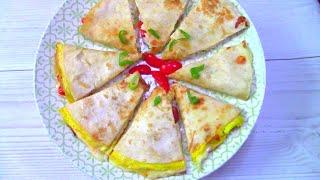 ЗАВТРАК ИЗ ЛАВАША 2 РЕЦЕПТА НА СКОВОРОДЕ ОЧЕНЬ ПРОСТО И ВКУСНО Pitta bread breakfast 2 recipes