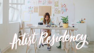 Day in the Life: Artist Residency 🎨 | Abbey Sy