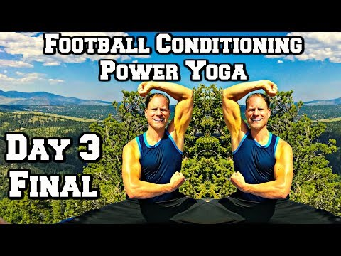 50 Min ENDURANCE POWER YOGA for STRENGTH WORKOUT - Power Yoga for Athletes (part 3 of 3)