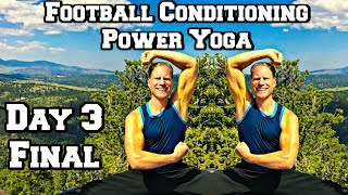 50 Min KILLER POWER YOGA for STRENGTH WORKOUT - Power Yoga for Athletes (part 3 of 3)