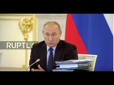 LIVE: Putin chairs Council for Civil Society and Human Rights meeting in Moscow