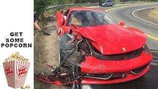 26 y/o WRX STi Owner Totals $300K Ferrari 458 Italia