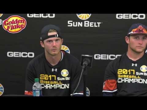 2017 Sun Belt Conference Baseball Championship Press Conference