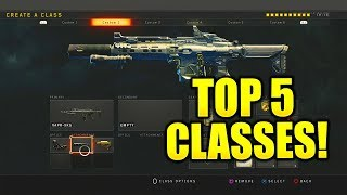 BLACK OPS 4 BEST CLASS SETUPS! COD BO4 BEST CLASS SETUPS FOR NUCLEARS IN BLACK OPS 4 BEST CLASSES!