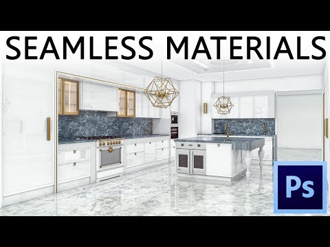 Making A SEAMLESS (tile) Material In Photoshop (tutorial)