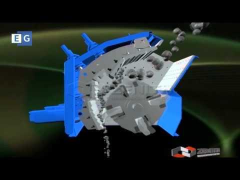 Роторная дробилка (устройство и принцип работы) ZENITH