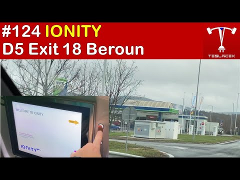 #124 Tesla Model 3 a Ionity Beroun 189kW  (OMV) | Teslacek