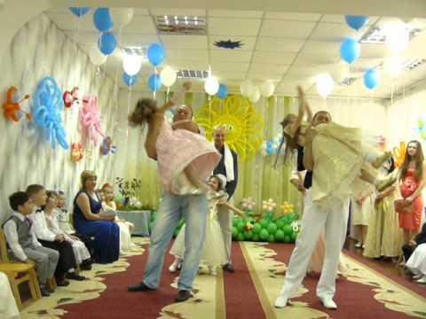 Выпускной вечер Полины.(Танец с папой)