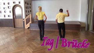 Golden Wedding Ring Line Dance Teach & Dance