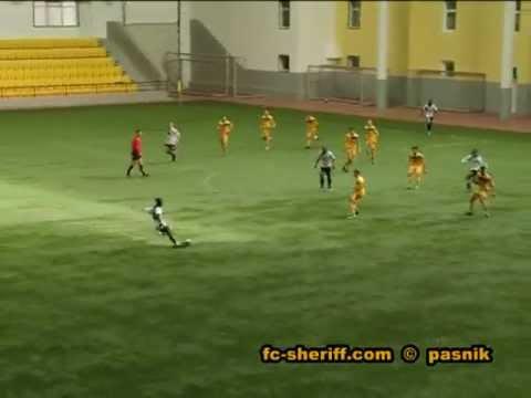 Тов. матч Шериф 2 - Олимпия ( Бельцы) 26.02.2012, 4 - 0