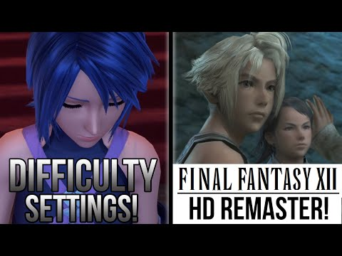 Kingdom Hearts 0.2 Birth By Sleep Difficulty Settings, Final Fantasy 12 PS4 and More!