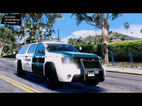Declasse Granger Policia Española / Spanish Police Granger 1.0 Grand Theft Auto V MGVA Modification