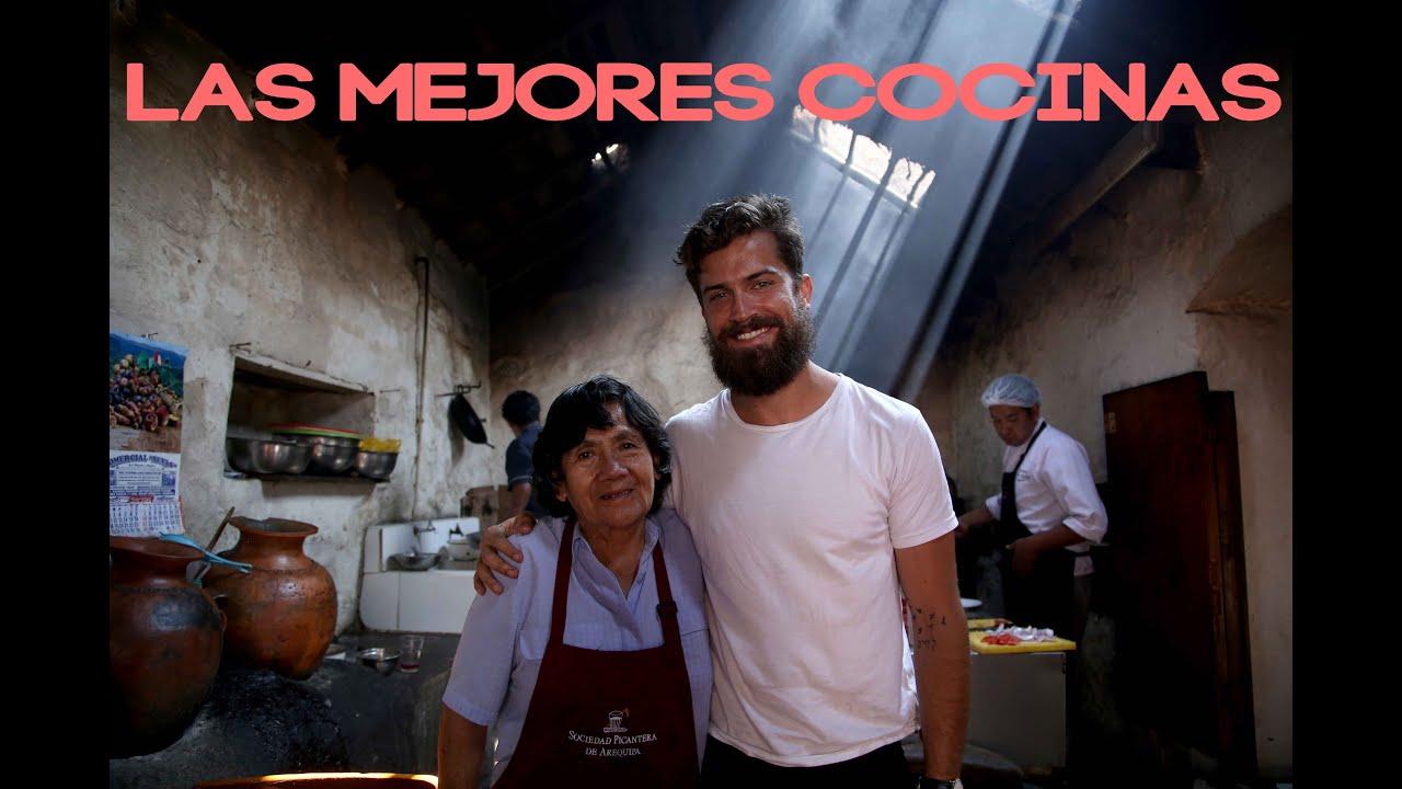 Las mejores cocinas del Perú!  Viaja y Prueba con Luciano Mazzetti.
