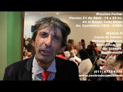 Dr. Antonio De Santis en Bauen Suite Hotel - Escuela de Decodificación 2017