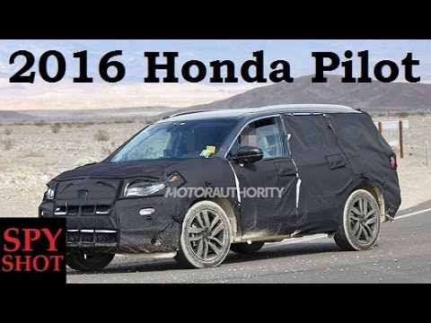 2016 Honda Pilot Spy Shot !