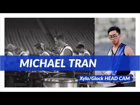 Blue Devils 2018 - Xylo/Glock Head Cam - Michael Tran