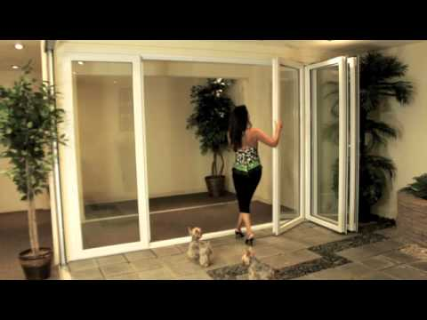 Folding Patio Doors, Folding Glass Doors,Folding Exterior Doors ...