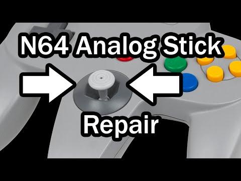 N64 Analog Stick Repair