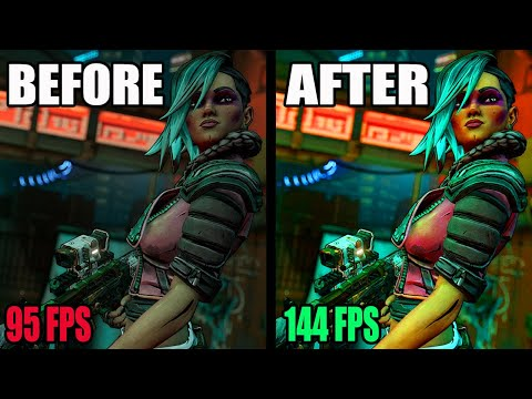 Borderlands 3 - HOW TO INCREASE YOUR PERFORMANCE & BOOST YOUR FPS! (Borderlands 3 Guide 2021) |