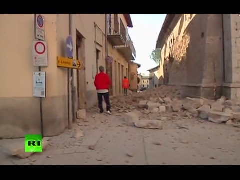 Earthquake strikes central Italy, tremors felt in Rome (streamed live)