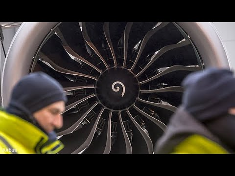 A quoi sert cette spirale au centre des moteurs d'avion ?