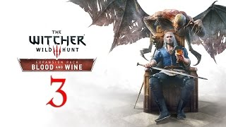 WITCHER 3: Blood and Wine #3 : Did you just rip off your skirt and ask me to cheat?