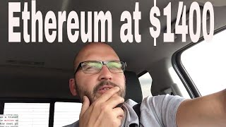 Cryptocurrency - Ethereum at $1400 by summer 2018! Ethereum at New All Time High
