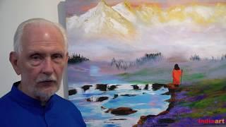 "Nayaswami Jyotish talks about his painting ""O, God Beautiful"""