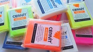 Глина ЦЕРНИТ (Cernit)!!! Обзор и тест на прочность.