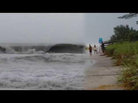Hurricane Hermine not far off shore!