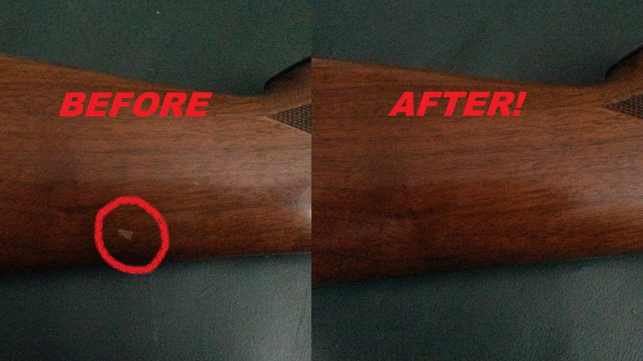 How To Fix Gun Stock Scratches With Boiled Linseed Oil: Easiest Fastest  Cheapest Way to Remove Them