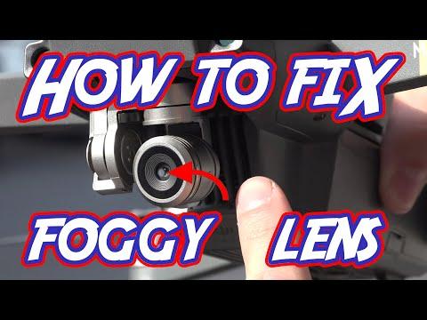 How to fix a foggy DJI Mavic camera lens ($25)
