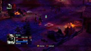 Vandal Hearts: Flames of Judgement - Opening Battle 2 Gameplay (XBLA / PSN)