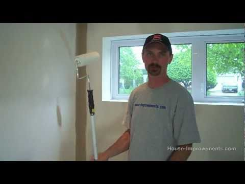 How To Apply Primer To New Drywall Walls