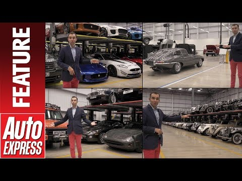 Jaguar's SECRET car collection. We take a JLR Classic private tour