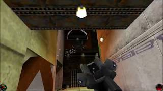 Star Wars Jedi Knight: Mysteries of the Sith - (Level 7) Katraasii Space Port, Part B