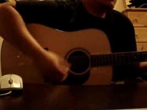 Trying out my new Martin D-16RGT guitar
