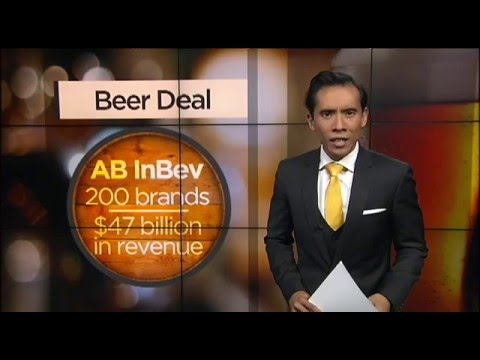 Beer games: Global moves by the big brewers